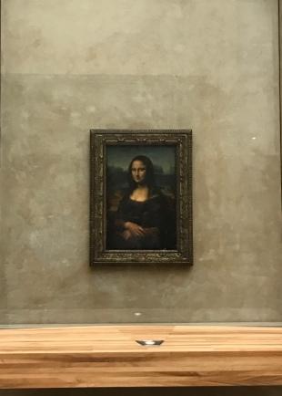 Mona Lisa @ The Louvre