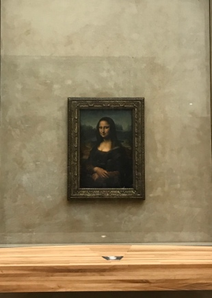 Mona Lisa @ The Louvre
